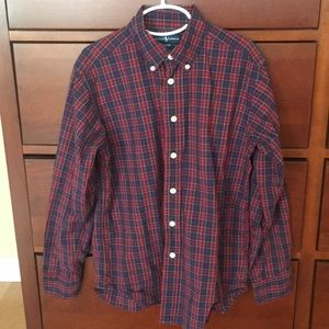 Ralph Lauren Boys Button down Sz 8/10